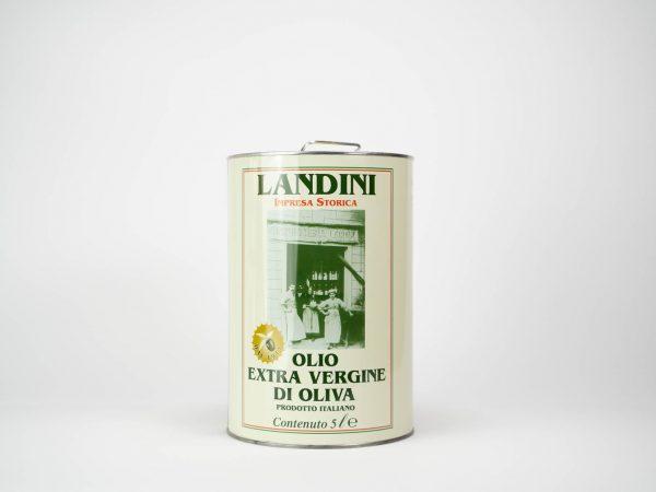 OLIO EXTRA VERGINE D'OLIVA FILTRATO ORIGINE ITALIA LT. 5 LANDINI