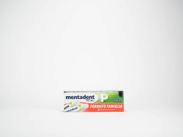 DENTIFRICIO MENTADENT 75 ML X2