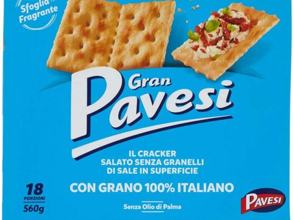 CRACKERS PAVESI NON SALATI G.560