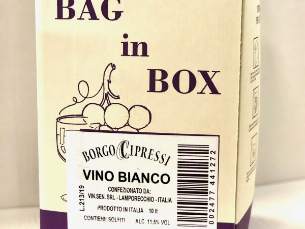 VINO BIANCO BAG BOX LT. 10