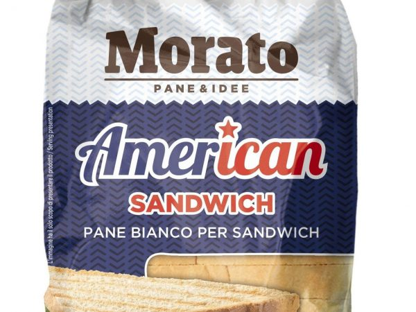 AMERICAN SANDWICH PANE BIANCO PER SANDWICH GR 550 MORATO