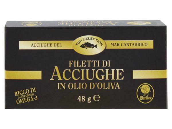 FILETTI ACCIUGHE CANTABRICO IN OLIO D'OLIVA  G.50