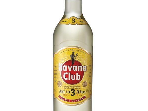 RHUM HAVANA CLUB 3 ANNI CL.70