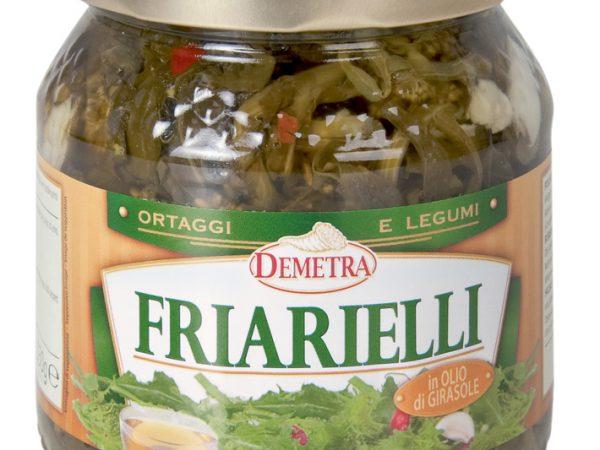 FRIARIELLI IN OLIO GIRASOLE  GR 530 DEMETRA