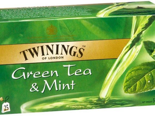 THE TWINING GREEN MENTA 25F