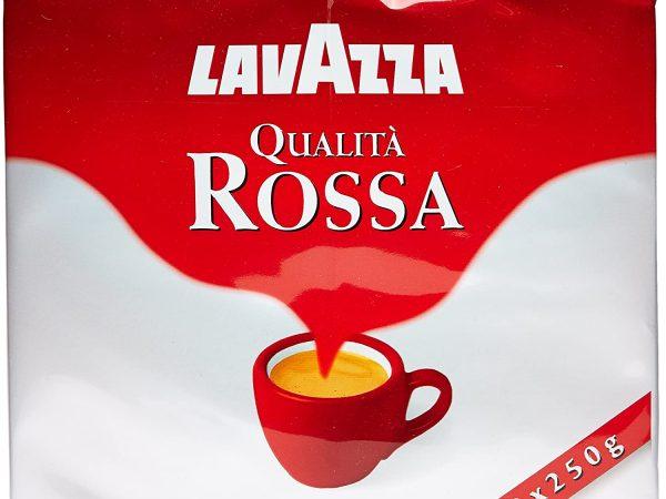 CAFFE' LAVAZZA ROSSA CONFEZIONE 2 XX 250 GR