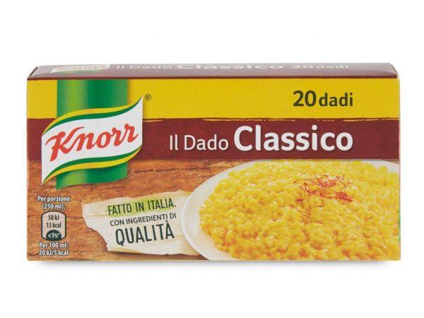 DADI CLASSICO KNORR X 20 CUBETTI