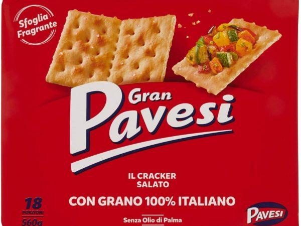 CRACKERS PAVESI SALATI GR 560