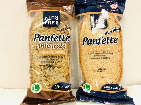 PANFETTE INTEGRALE S/GLUTINE X 2 FETTE  NUTRIFREE