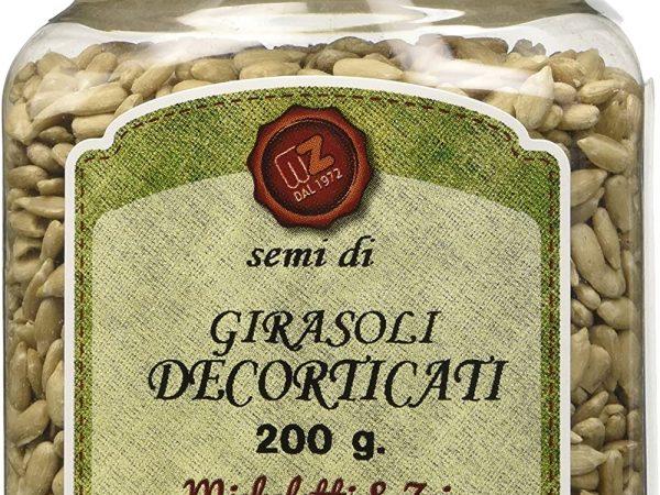 SEMI GIRASOLE DECORTICATO GR 200 ZEI