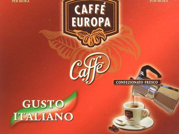 CAFFE' EUROPA MACINATO CONFEZIONE  2 X 250 GR