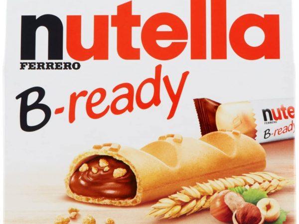NUTELLA B-READY X 6 PZ GR.132