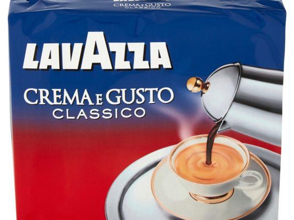 CAFFE' LAVAZZA CREMA E GUSTO CONFEZIONE 2 X 250 GR