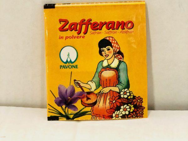 ZAFFERANO PAVONE GR.0,125 X 3 BUSTINE
