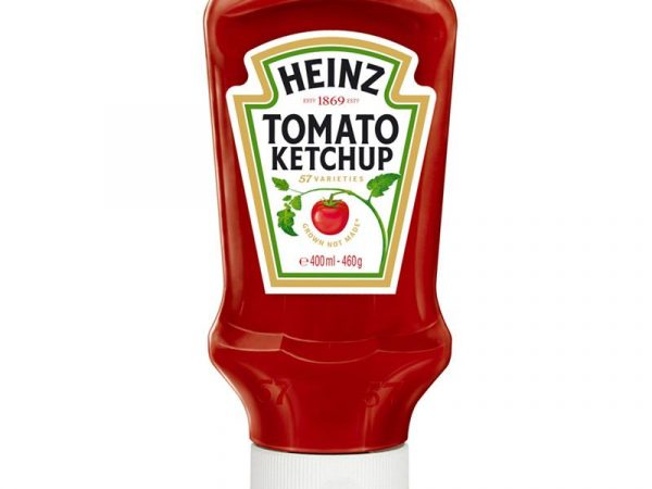 KETCHUP TOP DOWN HEINZ GR 460