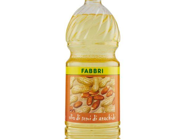 OLIO ARACHIDE LT. 1 PET FABBRI