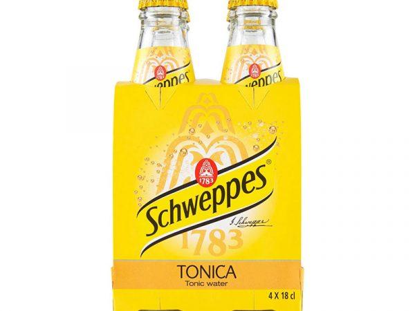 SCHWEPPES TONICA 18CL X 4 PZ VETRO