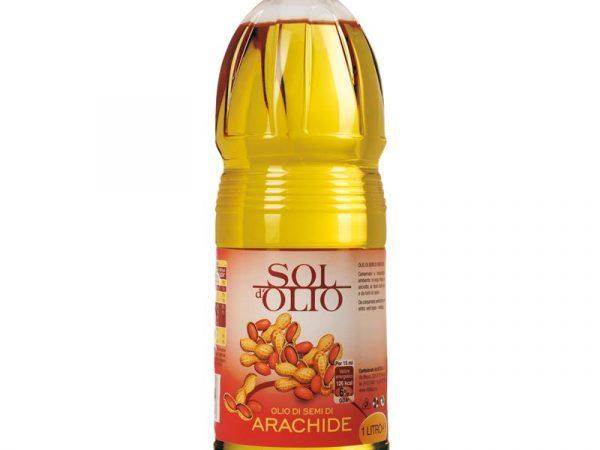 OLIO ARACHIDE LT.1 PET SOL D'OLIO